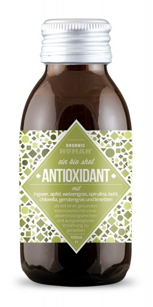 Organic Human Shot 100ml - Antioxidant